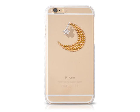 Twinkle's Night Bling Swarovski Crystal Phone Case - Transparent