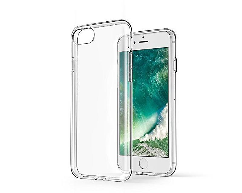 Limpio Series TPU and PC Clear Hard iPhone 7 Case - Transparent