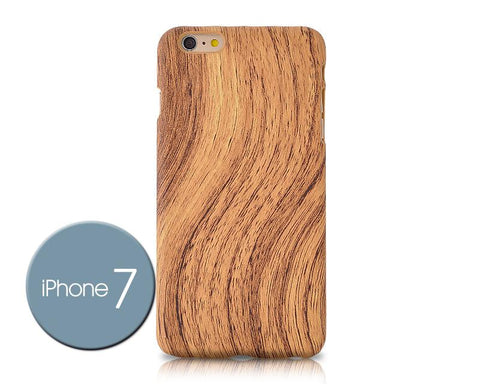 Wooden Series iPhone 7 Case - Light Brown
