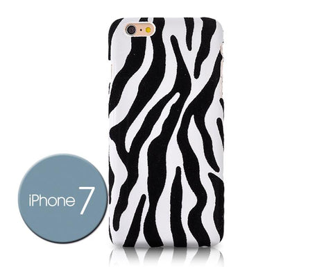 Zebra Series iPhone 7 Case - White