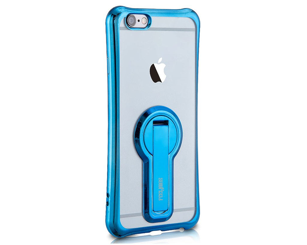 Stand Series iPhone 7 Silicone Case - Blue