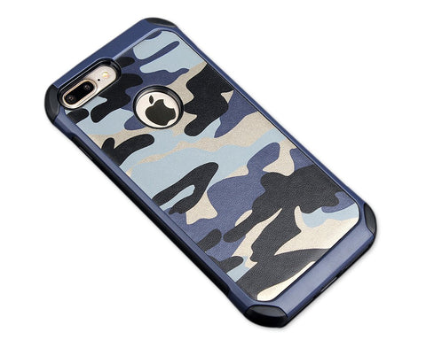 Camouflage Series iPhone 7 Case - Blue