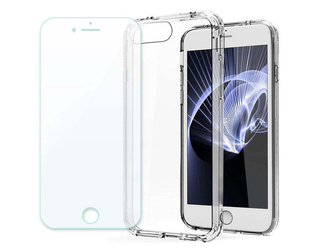 iPhone 8 Plus Case TPU Clear Hard Case