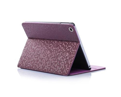 Lusso Series iPad Mini 3 Flip Leather Case - Purple
