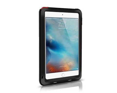 Waterproof Series iPad Mini 4 Metal Case - Black