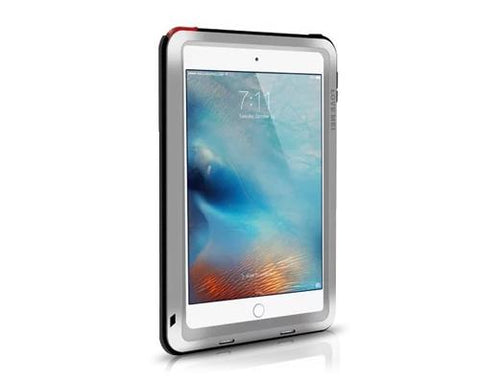 Waterproof Series iPad Mini 4 Metal Case - Silver