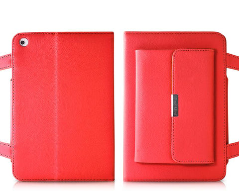 Holster Series iPad Mini Leather Case - Red