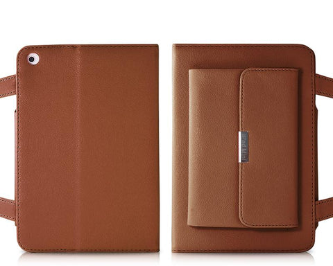 Holster Series iPad Mini Leather Case - Brown