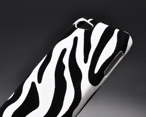 Zebra Series iPod Touch 5 Case - White