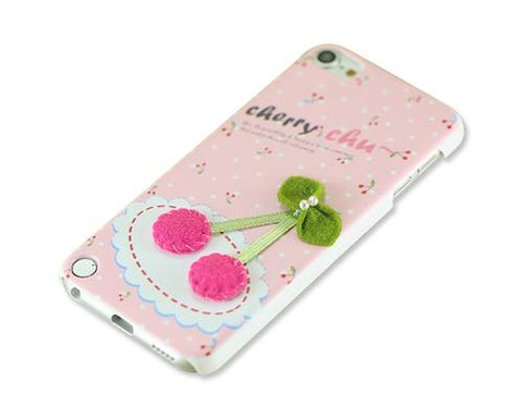 3D Stylish Series iPod Touch 5 Case - Cherry