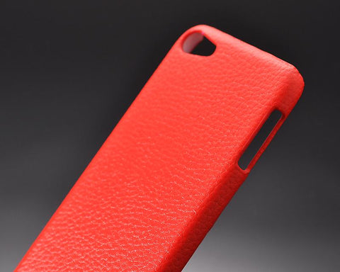 Simplism Series iPod Touch 5 Leather Case - Red