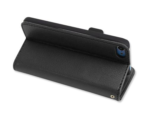 Liscio Series iPod Touch 5 Flip Leather Case - Black