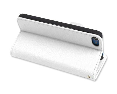 Liscio Series iPod Touch 5 Flip Leather Case - White