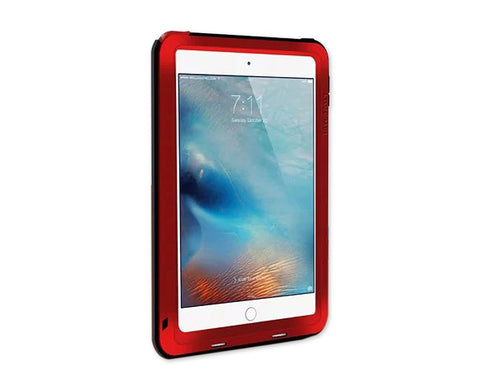 Waterproof Series 9.7 Inch iPad Pro Metal Case - Red