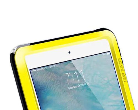 Waterproof Series 9.7 Inch iPad Pro Metal Case - Yellow
