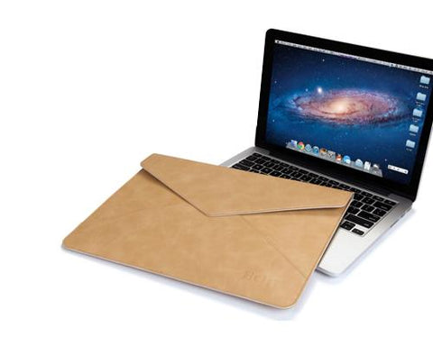 Envelope Series iPad Pro Leather Sleeve Case - Brown