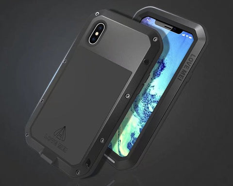 iPhone XS Waterproof Case Shockproof Metal Case