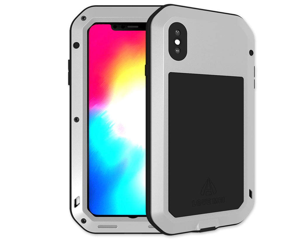 iPhone XS MAX Waterproof Case Shockproof Metal Case