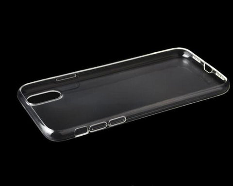 Apple iPhone XS Plus Clear Case TPU Bumper with Acrylic Back