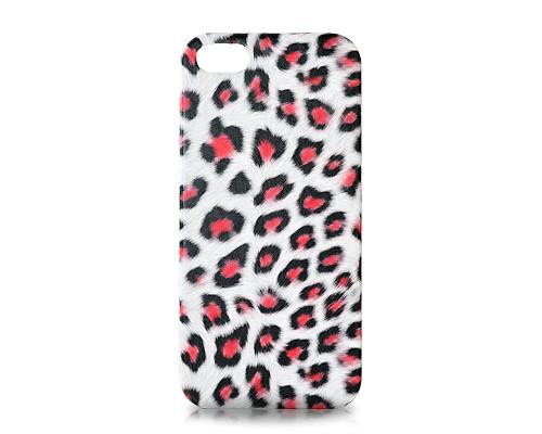 Leopardo Series iPhone SE Case - Red