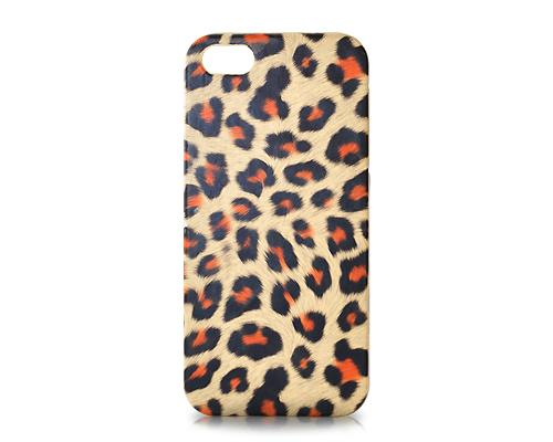Leopard Series iPhone SE Case - Brown