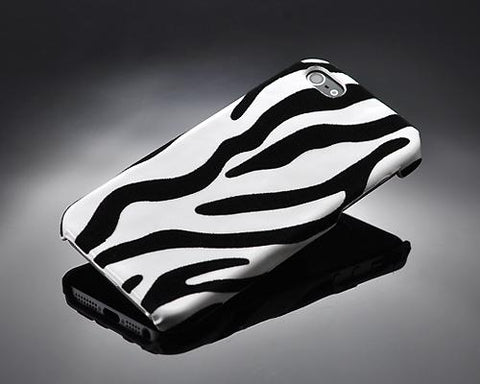Zebra Series iPhone SE Case - White