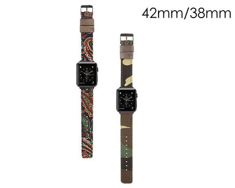 Genuine Leather Strap Wrist Band for Apple Watch