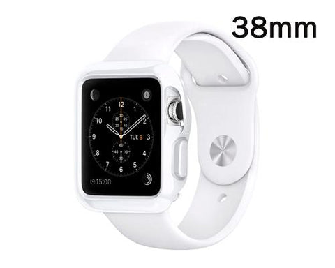 Ultra Slim TPU Case for Apple Watch 38mm - White