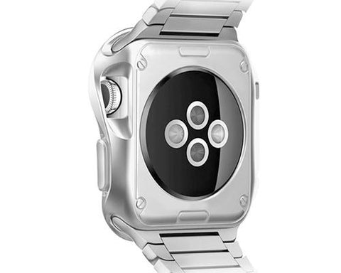 Ultra Slim TPU Case for Apple Watch 38mm - Silver