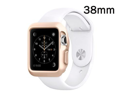 Ultra Slim TPU Case for Apple Watch 38mm - Champagne Gold