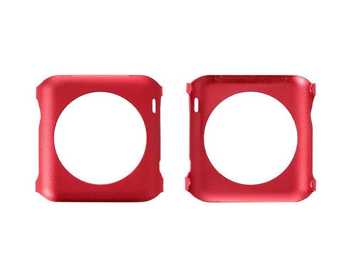 38mm Apple Watch Aluminium Alloy Protective Case iWatch Cover - Red