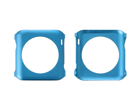 38mm Apple Watch Aluminium Alloy Protective Case iWatch Cover - Blue