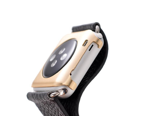 38mm Apple Watch Aluminium Alloy Protective Case iWatch Cover - Gold
