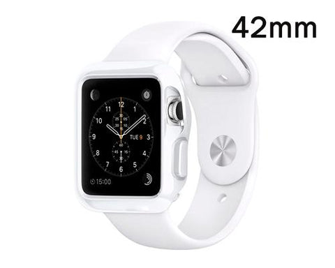 Ultra Slim TPU Case for Apple Watch 42mm - White
