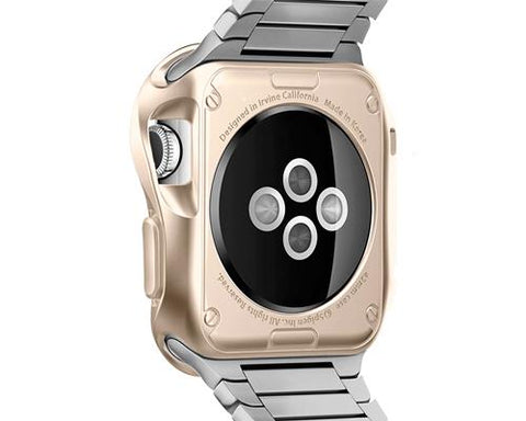 Ultra Slim TPU Case for Apple Watch 42mm - Champagne Gold