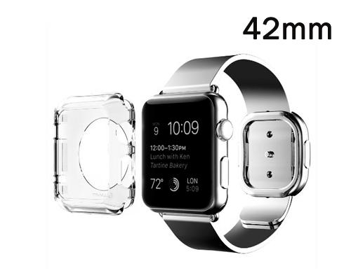 Ultra Slim Clear Case for Apple Watch 42mm - Transparent