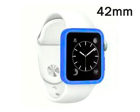 Ultra Slim TPU Case for Apple Watch 42mm - Blue