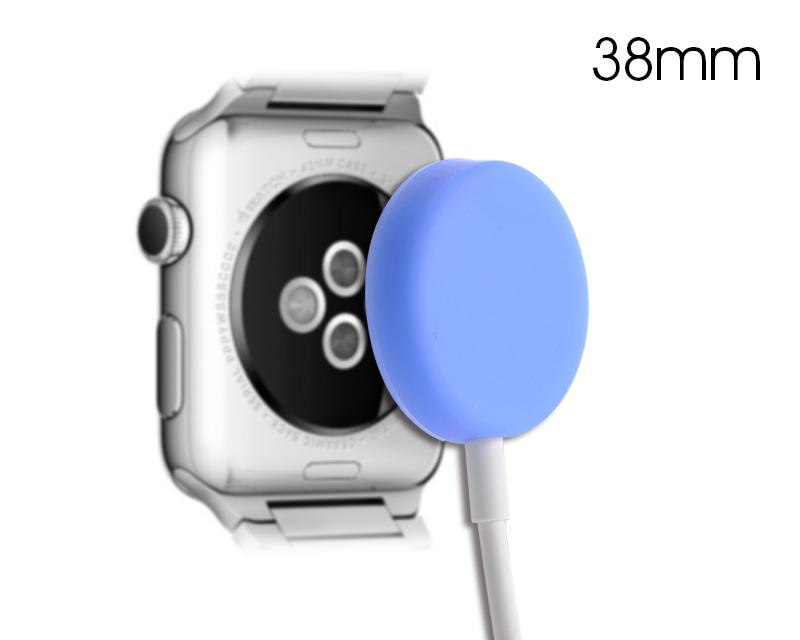 38mm Apple Watch Magnetic Charging Cable Protection Case - Blue