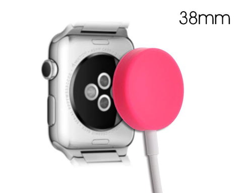 38mm Apple Watch Magnetic Charging Cable Protection Case - Pink