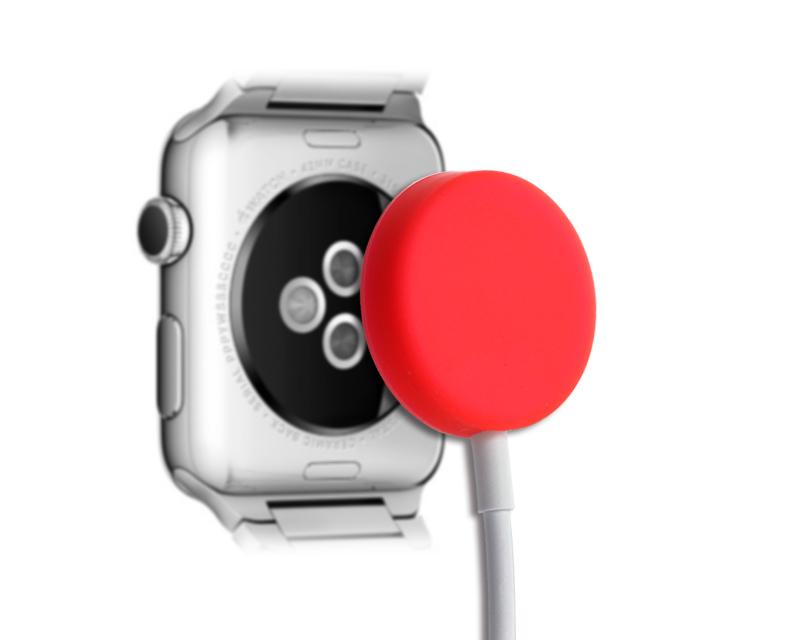 Protecitve Case for Apple Watch Charging Cable - Red