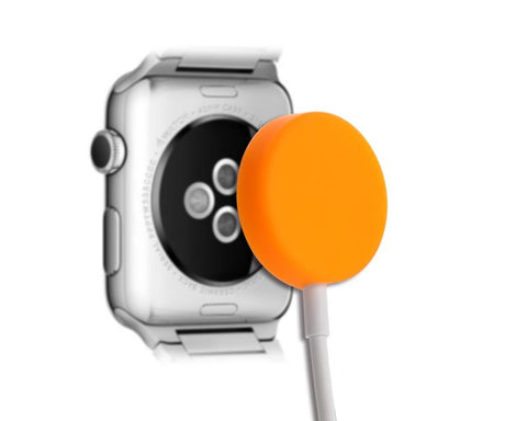 Protecitve Case for Apple Watch Charging Cable - Orange