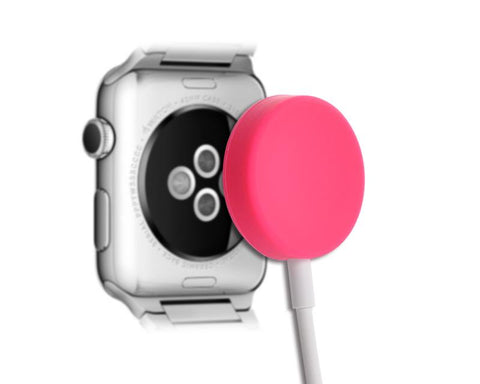 Protecitve Case for Apple Watch Charging Cable - Pink