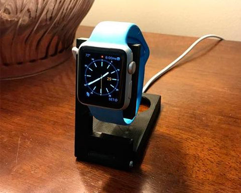 3D Printing Folding Charger Dock for 38mm / 42mm Apple Watch - Black