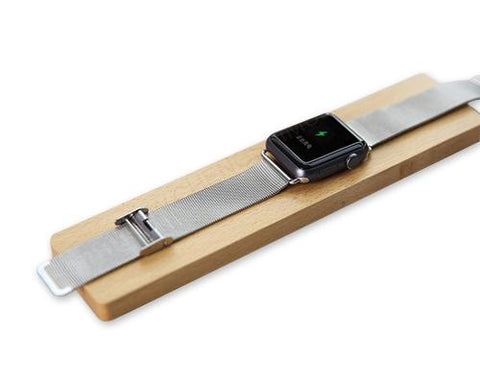 Wooden Charging Dock Station Platform for Apple Watch - Beech