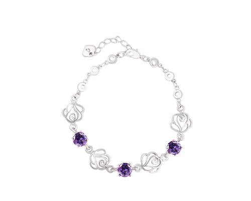 Tender Rose Crystal Bracelet