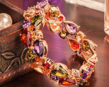 Shinning Series Multicolor Cubic Zirconia Bracelet