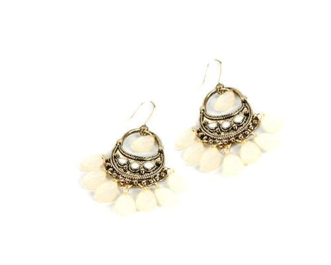 Vintage Bohemian-Style Dangle Hook Earrings for Women