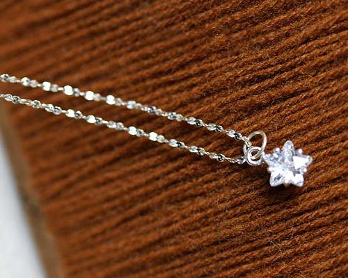 Little Star 925 Sterling Silver Necklace