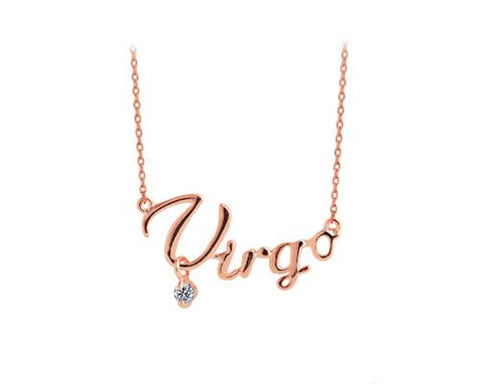 Constellation Virgo Crystal Necklace