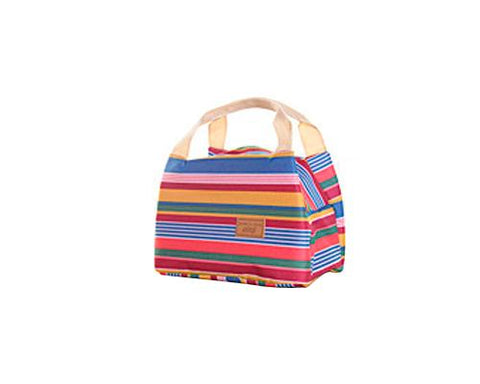 Trendy Insulated Thermal Picnic Lunch Bag with Zipper